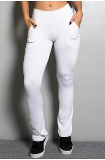 Calça Bailarina Isabel (Branco)   Ref: KS-F180-007