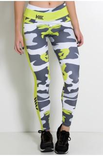 Legging Camuflado Verde Sublimada | Ref: KS-F2255-001