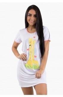 Camisola Girafa Linha Noite 384 (Branco) CEZ-CZ384-001
