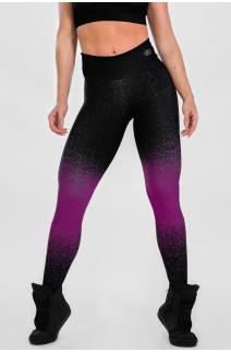 Calça Sublimada Purple Confetti | Ref: K2305-F