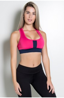 Top 2 Cores (Rosa Pink / Azul Marinho) | Ref: KS-F490-005