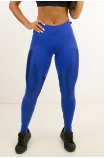 Calça Comfort Com Detalhe Em Textura (Azul Royal) | Ref: CAL423-008/008/000