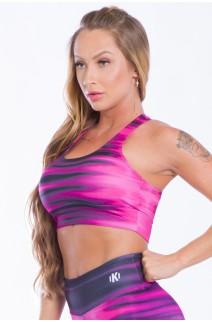 Top Sublimado Pink Tie Dye | Ref: K2525-A