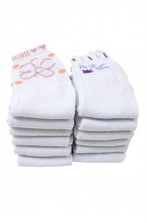 Kit 12 meias soquete feminina 014 (Sortida) CEZ-GL014-002
