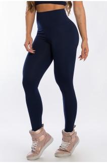 Calça Legging Levanta Bumbum (Azul Marinho) | Ref: K2429-C
