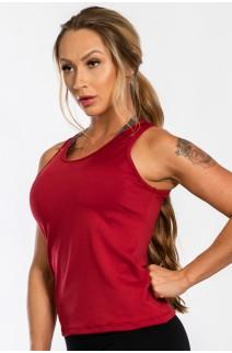 Camiseta Básica (Vinho) | Ref: K2441-B