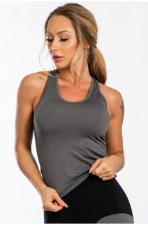 Camiseta Regata Nadador (Mescla)   Ref: K2453-B