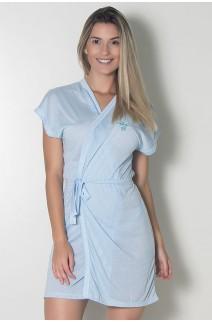 Robe de Malha 114 (Azul)  | Ref: CEZ-PA114-002