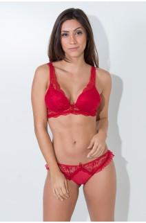 Conjunto Mariana 2363 (Vermelho) | Ref: KS-B208-003