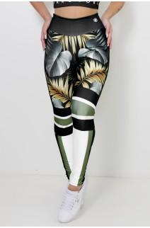 Calça Legging Sublimada Majestic Hardcore Fitness | Ref: CA443-041-000