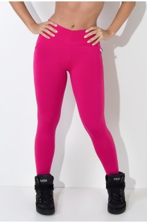 Calça Levanta Bumbum com Bolso (Rosa Pink) | Ref: F488-005
