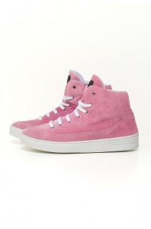Sneaker Camurça (Rosa Bebê) | Ref: KS-T52-002