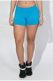 Shortinho  Liso (Azul Celeste) | Ref: KS-F60-005