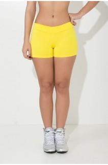 Shortinho Suplex Liso (Amarelo) | Ref: KS-F60-010