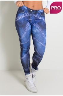 Legging Sublimada PRO (Jeans Dye) | Ref: NTSP32-001