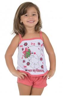 Baby-doll de Malha Infantil 035 (Goiaba) | Ref.: CEZ-PA035-003
