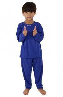 Pijama Infantil Longo 078 (Azul)