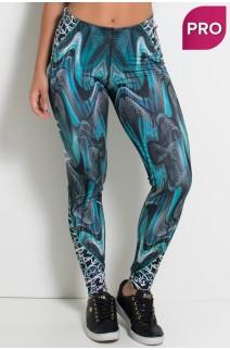 Legging Sublimada PRO (Ondas Coloridas) | Ref: NTSP03-001