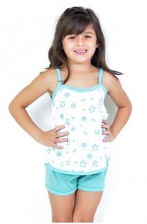 Babydoll Infantil 086 (Verde priscina) - AB