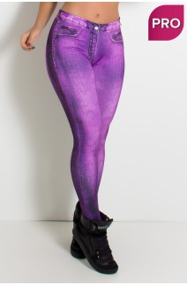 Legging Sublimada PRO (Stone Purple) | Ref: NTSP25-001
