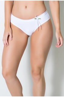 Calcinha Alessandra (Branco) | Ref: KS-A169-001