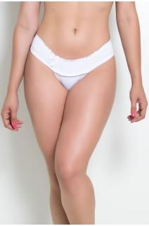 Calcinha Lara (Branco) | Ref: KS-A176-001