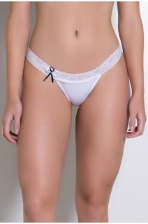 Calcinha Mel (Branco) | Ref: KS-A182-001