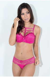 Conjunto Natanielle 1315 (Rosa Pink) | Ref: KS-B230-002