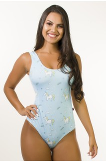 Body Sublimado Cavado nas Costas (Sky Unicorns) | Ref: BD107-041-002
