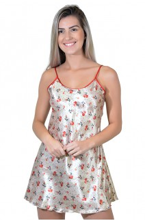 Camisola 002 (Floral vermelho)