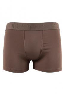 Cuecas Boxer - Micropoli 523 (Avulsa) Marrom | Ref: CEZ-CZ523-003