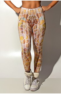 Legging Wood Art Sublimada | Ref: KS-F1207