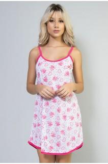Camisola 026 (Pink-Corações) | Ref: CEZ-PA026-005