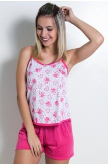Babydoll Feminino 025 (Pink) - AB Ref: CEZ-PA025-011