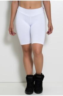 Bermuda Ciclista  (Branco) | Ref: KS-F1338-009