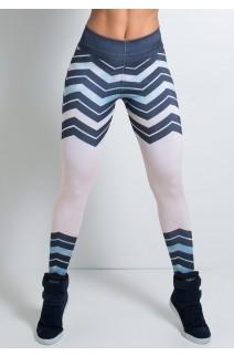 Legging Zig Zag Sublimada | Ref: KS-F1585-001