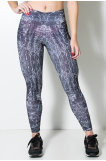 Legging Galhos Sublimada | Ref: KS-F1660-001