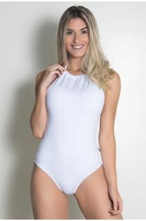 Body Liso de Amarrar (Branco) | Ref: KS-F2194-001