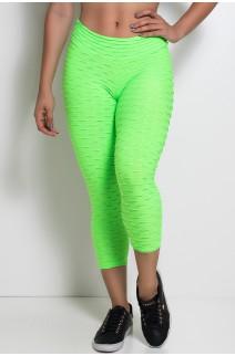 Corsário Tecido Bolha Fluor (Verde Limão Fluor) | Ref: KS-F305-001