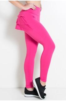Calça com Babado (Rosa Pink) | Ref: KS-F313-005