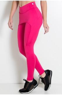 Calça Aranha  (Rosa Pink) | Ref.: KS-F324-007