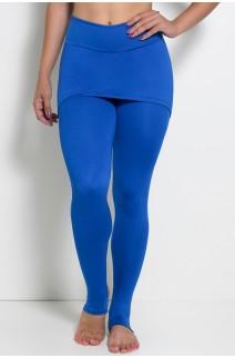 Legging com Tapa Bumbum e Pezinho (Azul Royal) | Ref: KS-F35-001