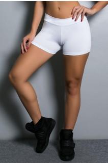 Shortinho Suplex Liso (Branco) | Ref: KS-F60-007