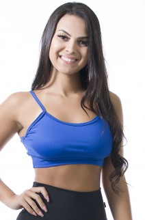 Top de Alcinha (Azul Royal) | Ref: KS-F611-001