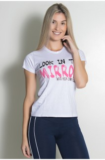Camiseta Feminina Look In The Mirror | Ref: KS-F702