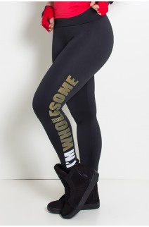 Calça Legging (Im Wholesome) (Preto) | Ref: KS-F710-001