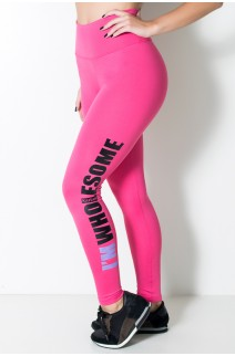 Calça Legging (Im Wholesome) (Rosa Pink) | Ref:F710-002