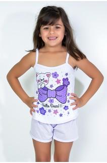 Babydoll Infantil 035 (Lilás) | Ref: CEZ-PA035-002