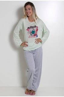 Pijama Longo 245 (Verde)