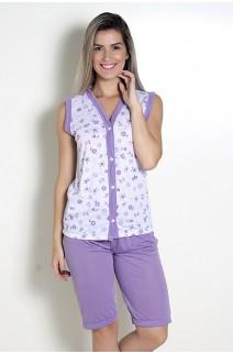 Pijama Pescador 098 (Lilás) CEZ-PA098-003